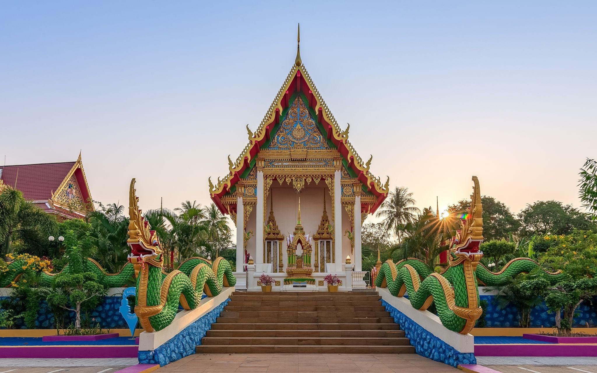 Wat karon, Thailand