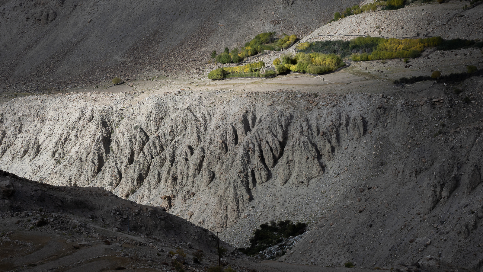 way down to Nubra valley, India