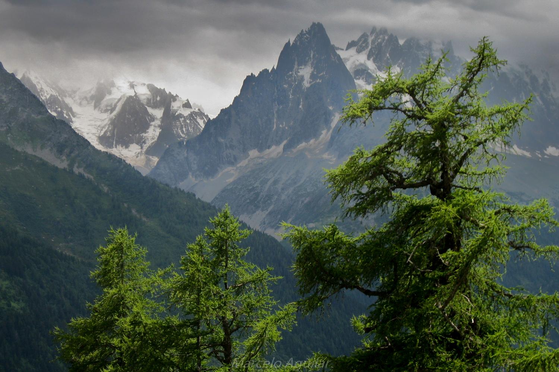 Aiguilles de Chamonix, France