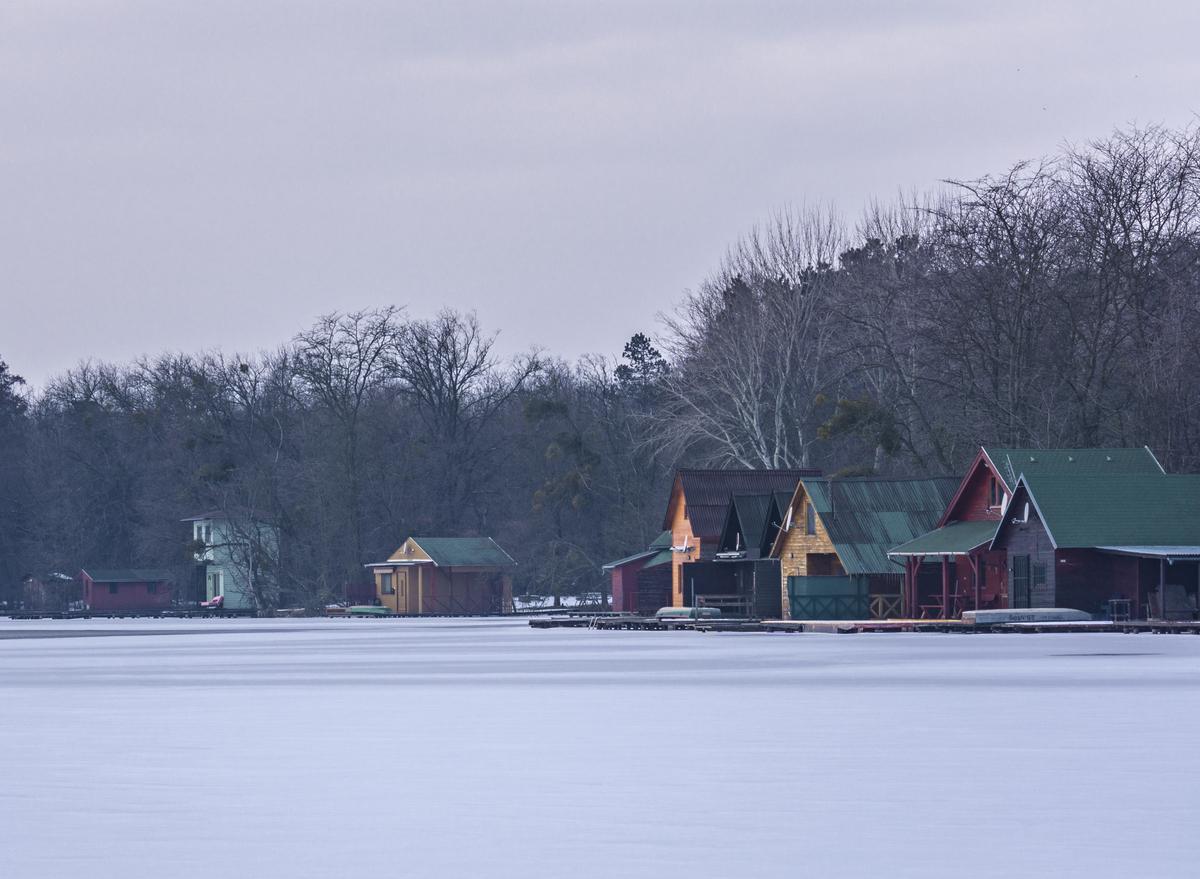 Által-éri ülepítő tó, Hungary