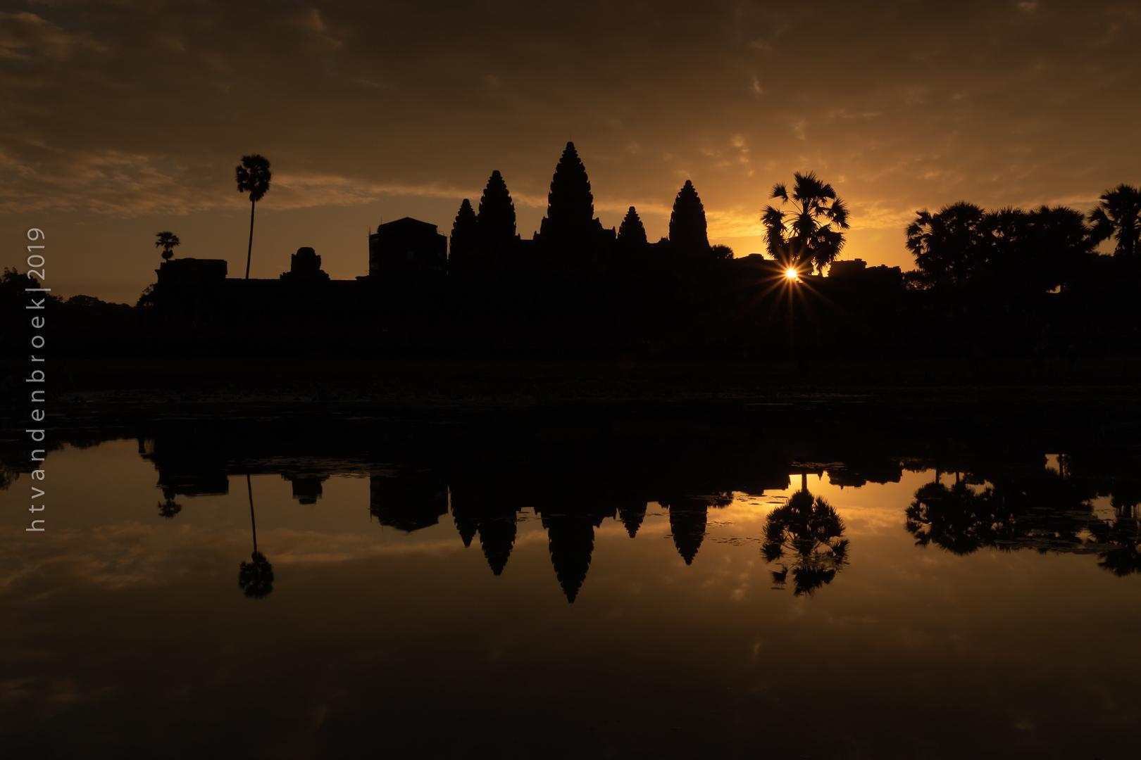 Angkor Wat - Reflecting Pool, Cambodia