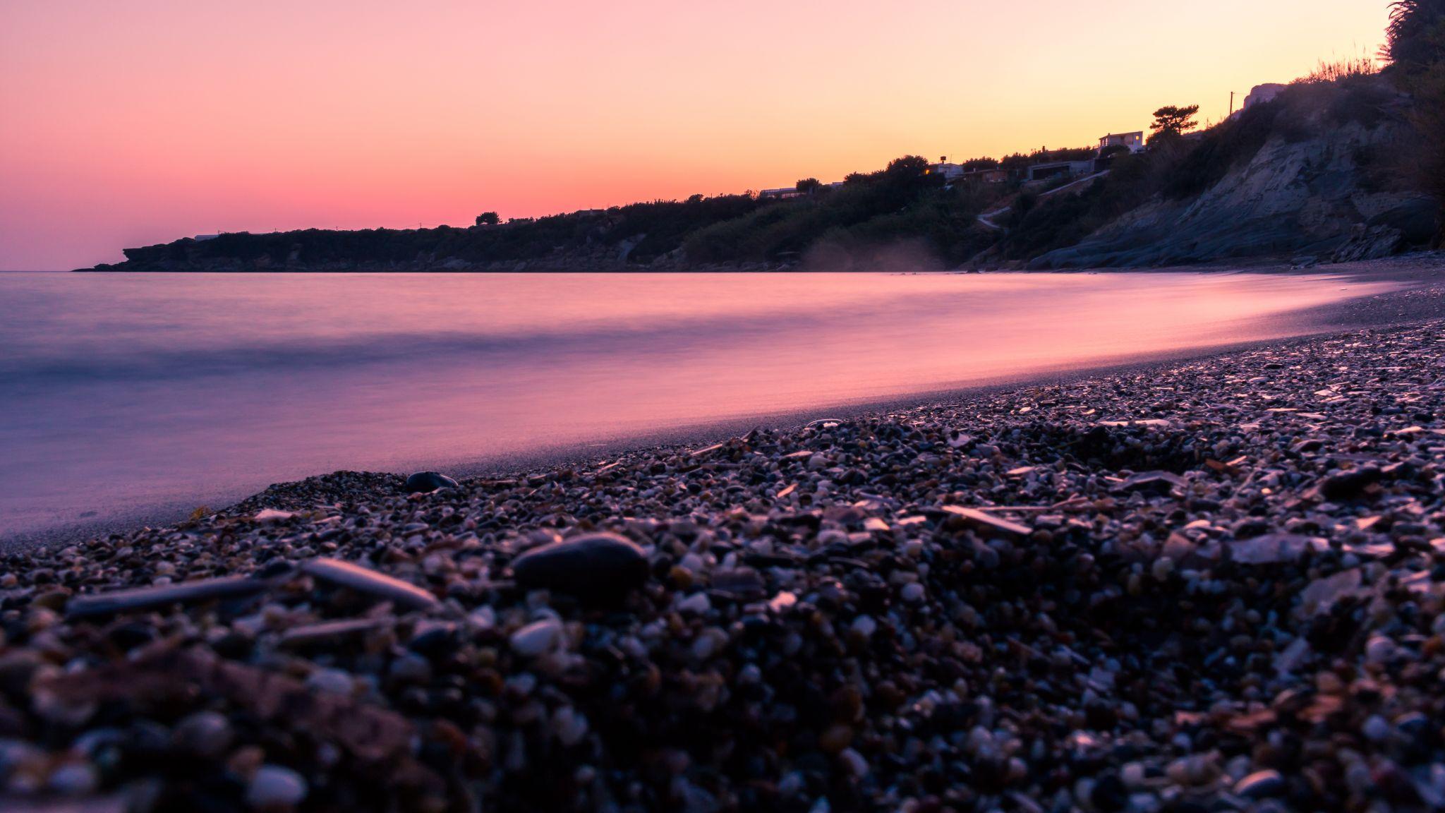 Beach at Porto Belissario Crete, Greece