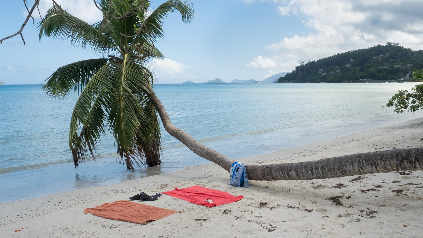 Beach symbol, Seychelles