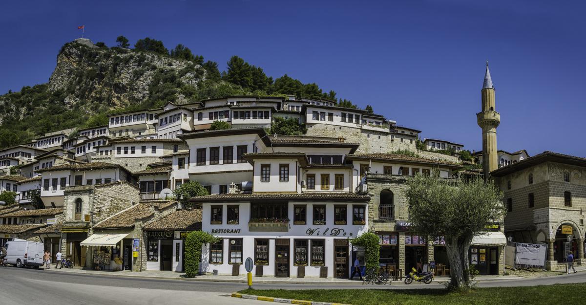 Berat old part, Albania
