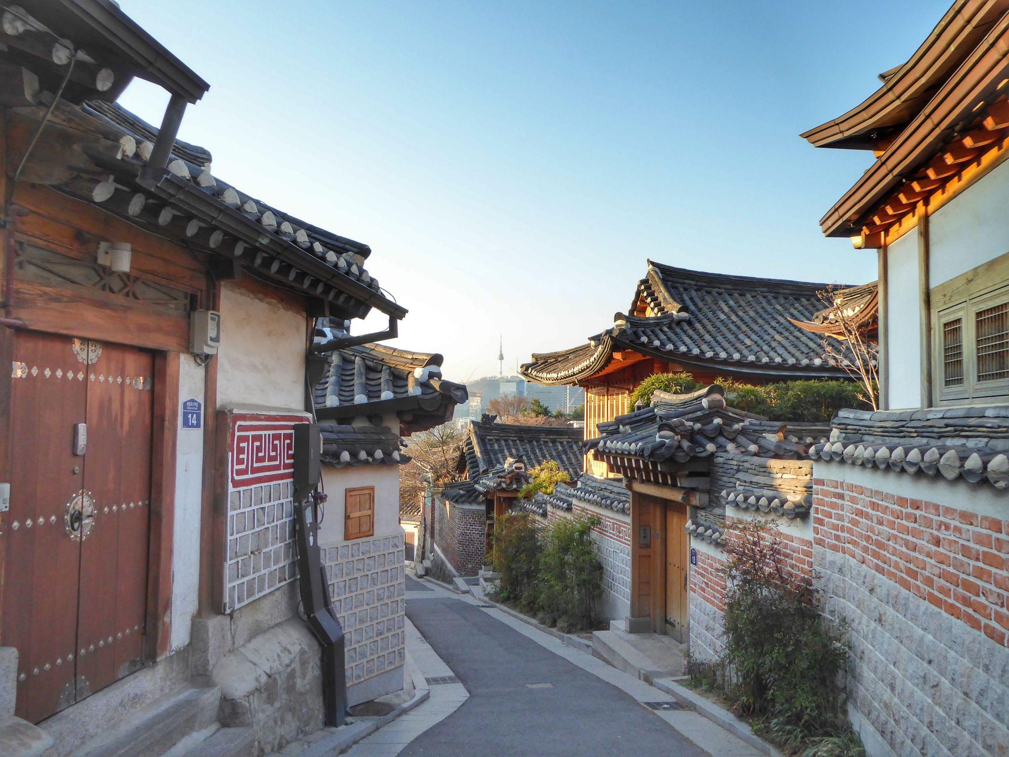Bukchon Hanok, Seoul, South Korea, Korea