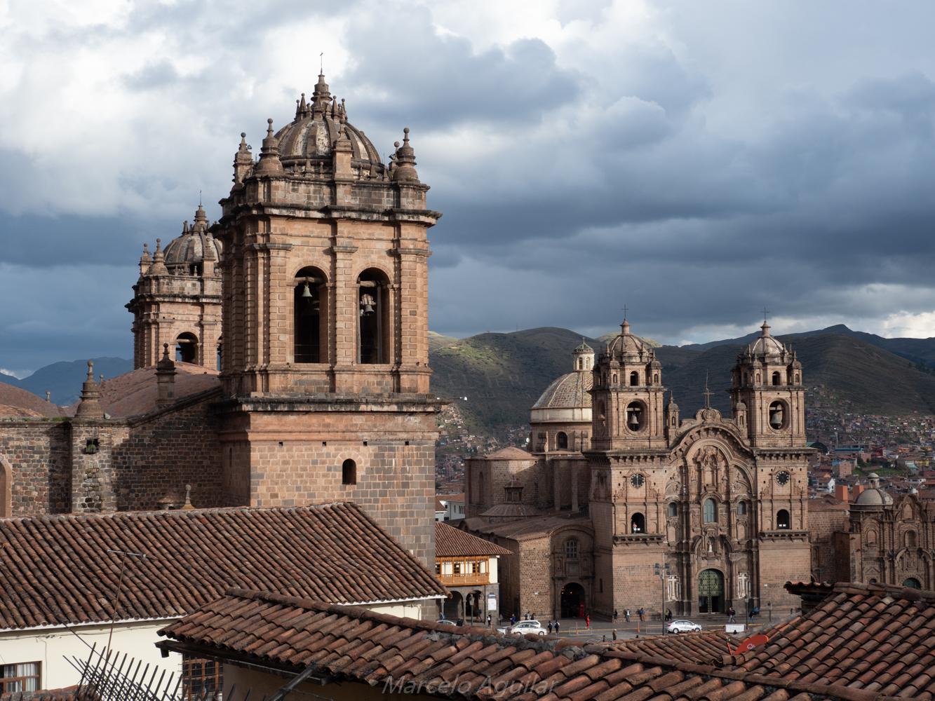 Catedral and Loreto church of Cusco, Peru