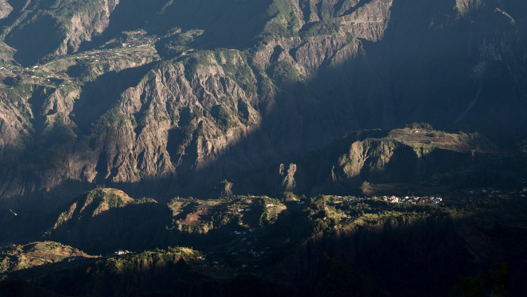 Cilaos overview, Reunion