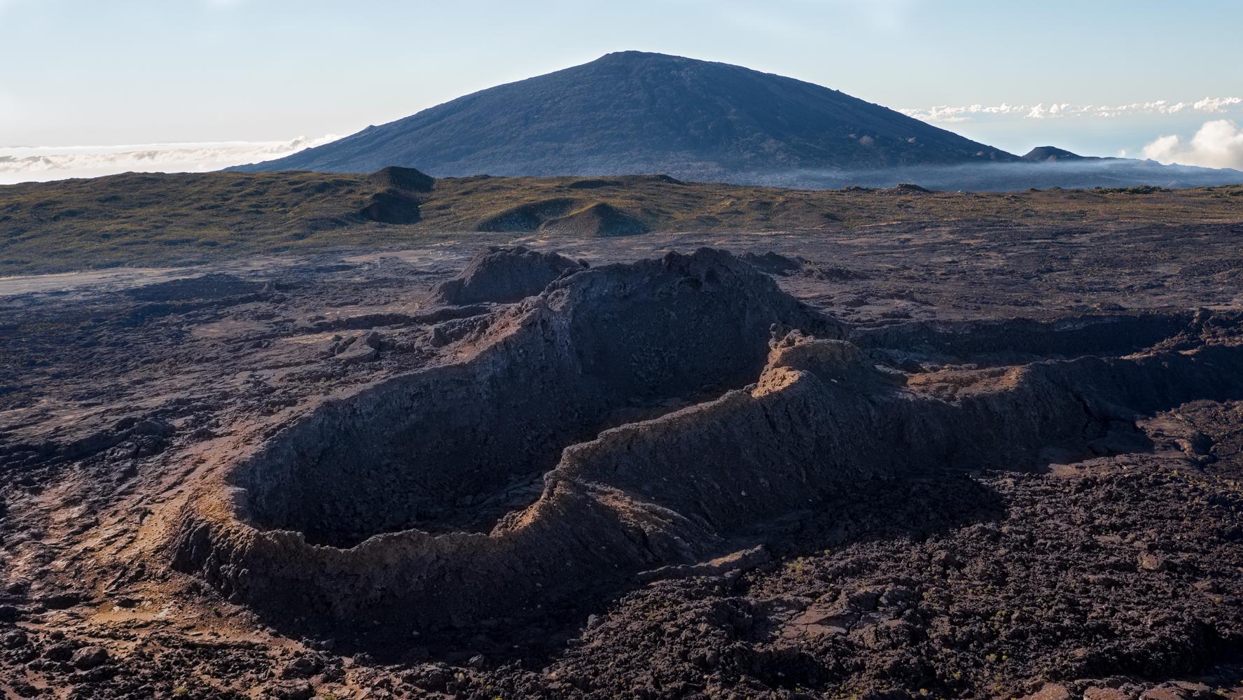 Crater Aubert de la Rüe, Reunion
