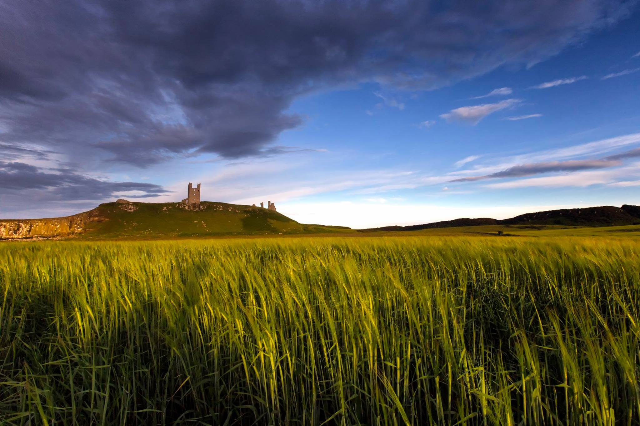 Dunstanburgh Castle, United Kingdom