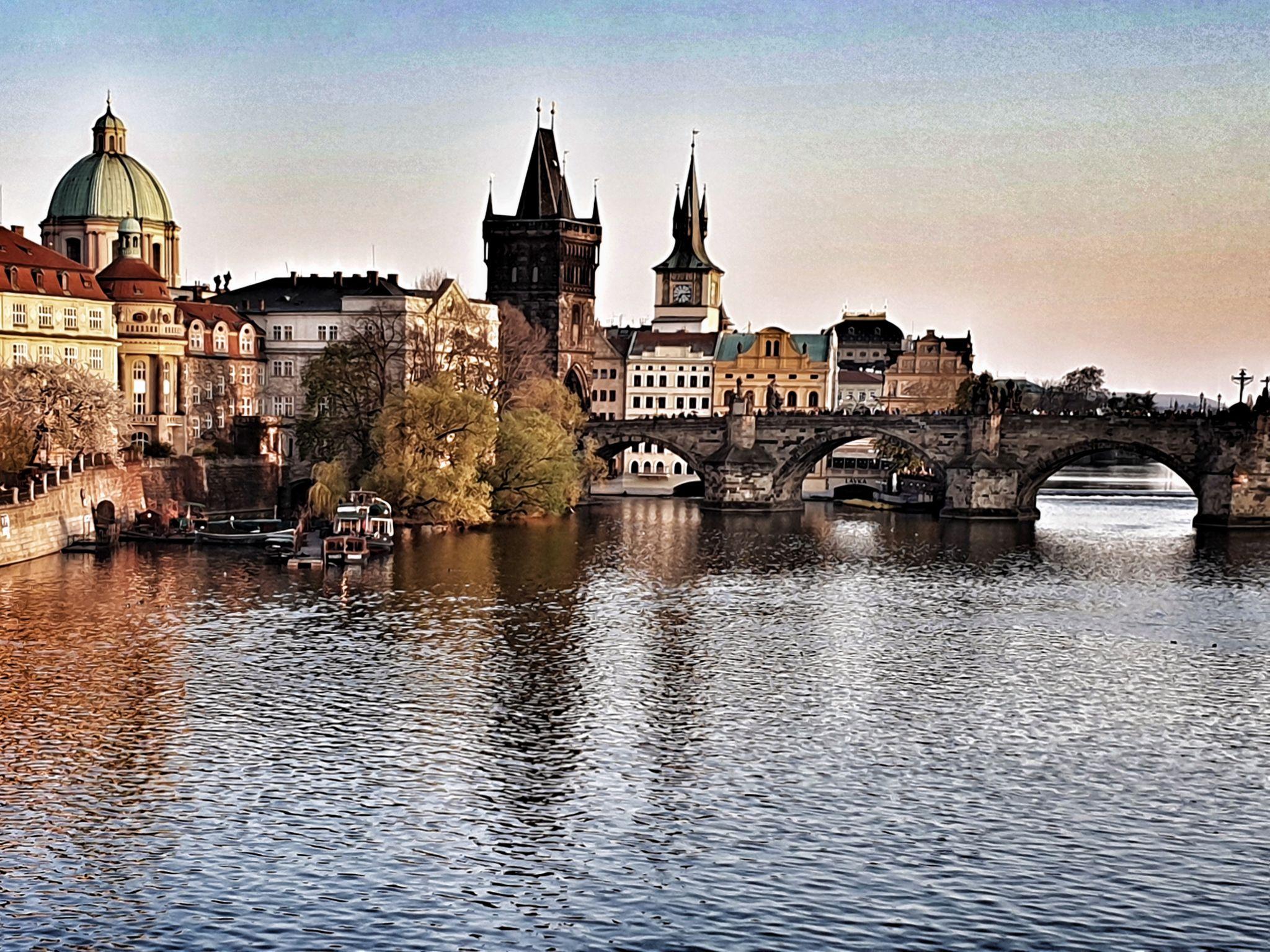 Golden hour, Czech Republic