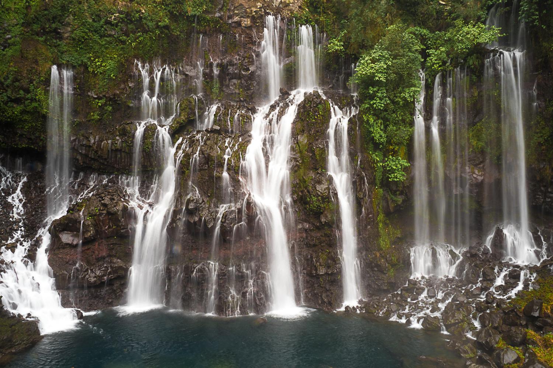 Grand Galet falls, Reunion