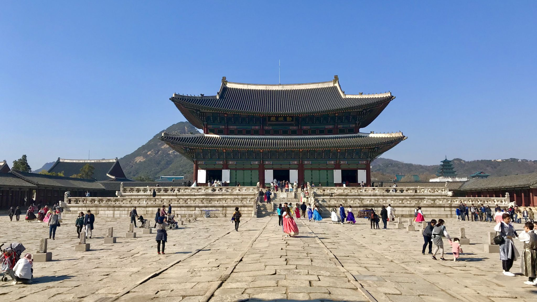 Gyeongbokgung Palace, Seoul, South Korea, Korea