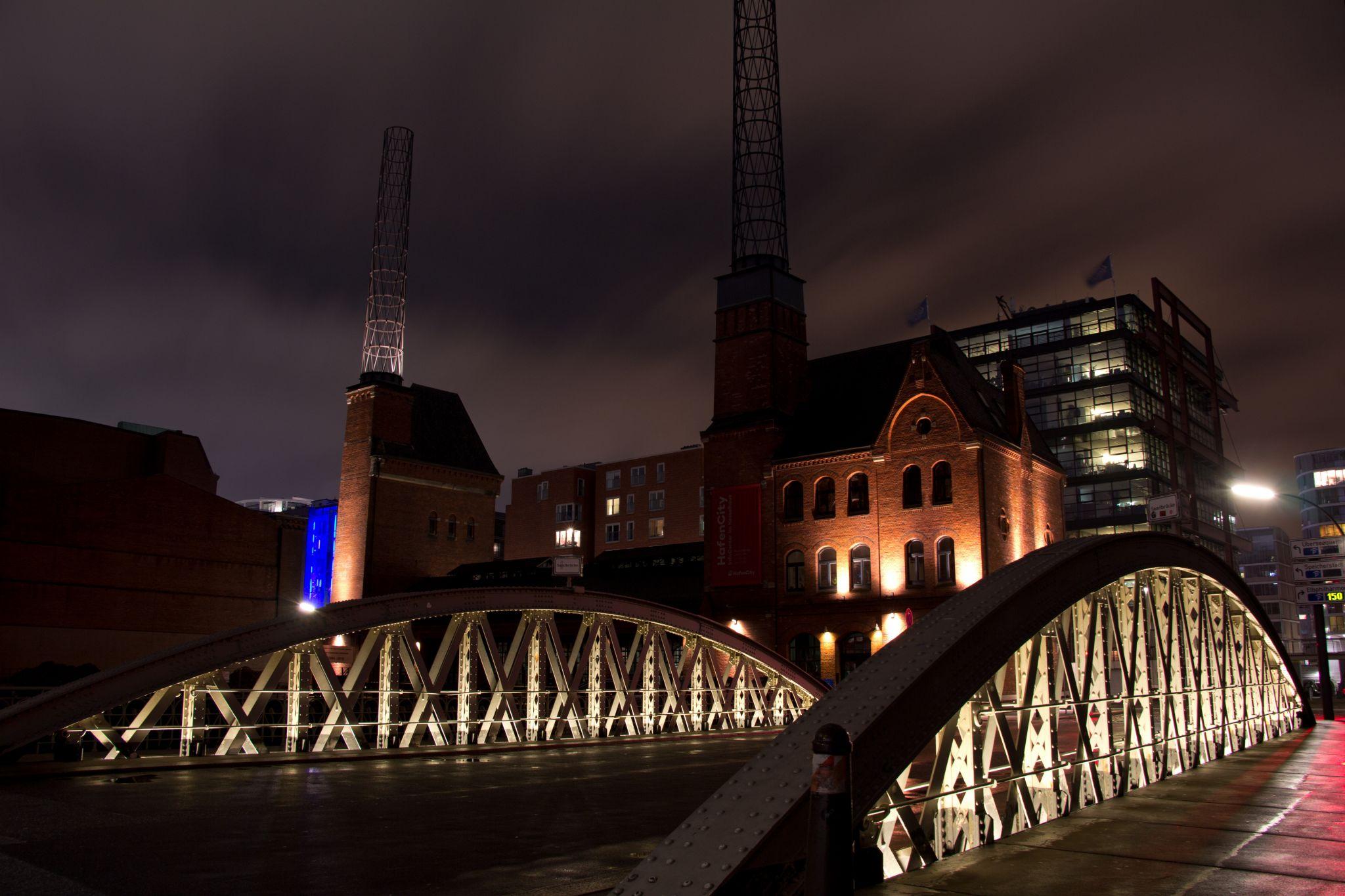 Hamburg Sandbrücke/Kesselhaus, Germany