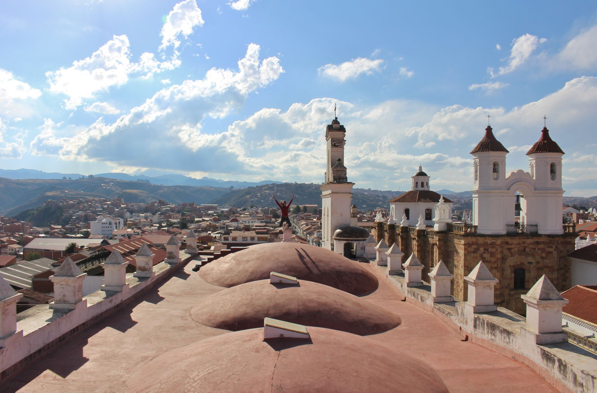 Roof of Iglesia la Merced, Bolivia