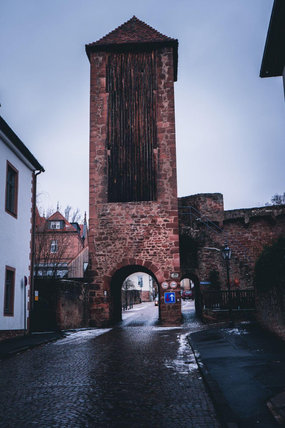 Inneres Holztor Gelnhausen, Germany