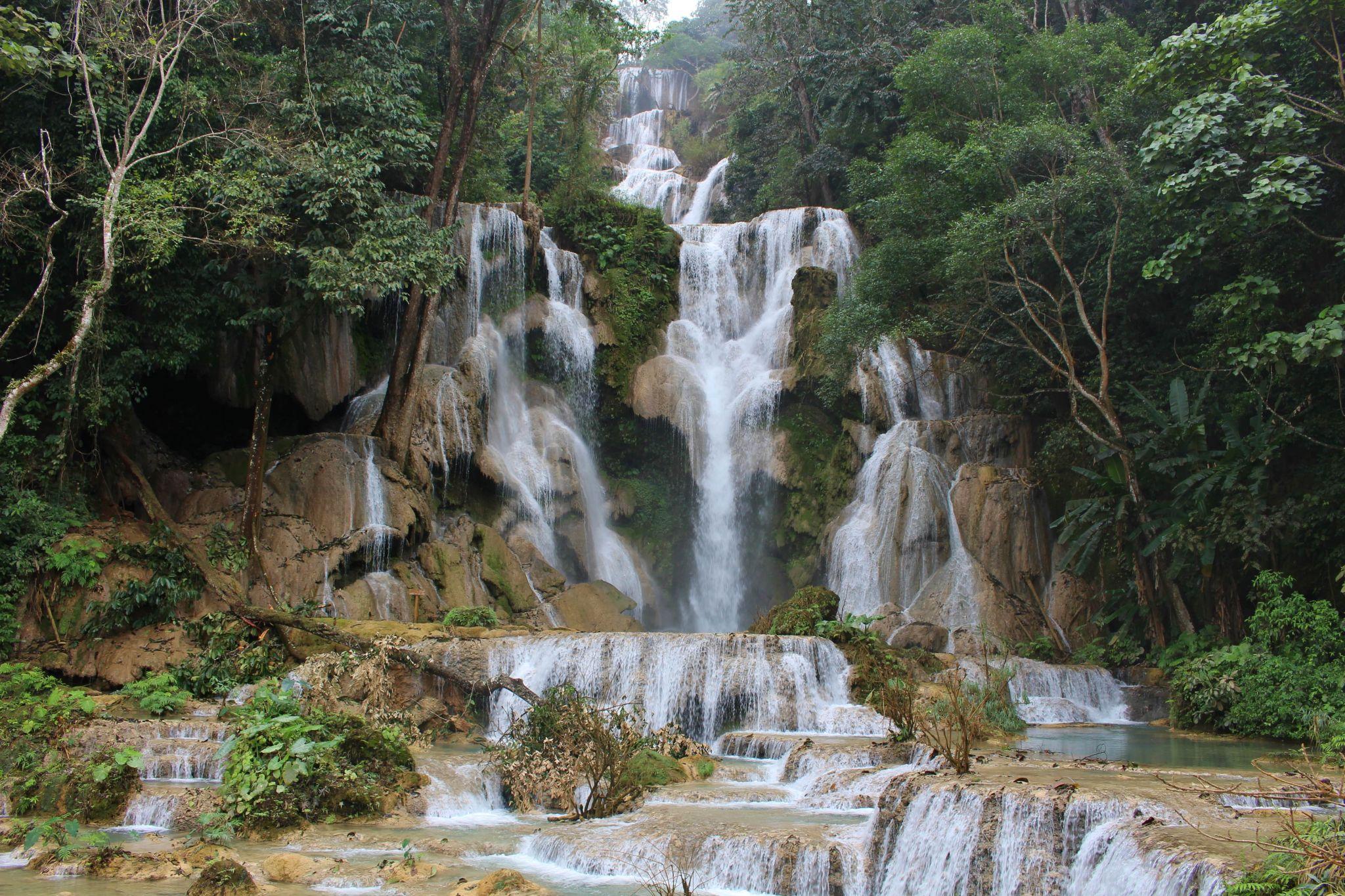 Kuang Si Waterfall, Lao