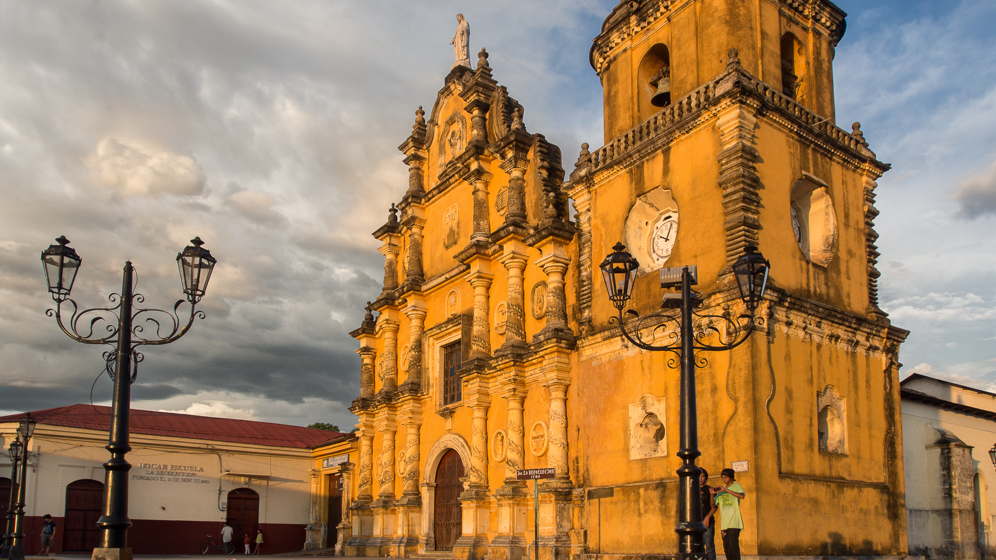 La Recolección church, Nicaragua