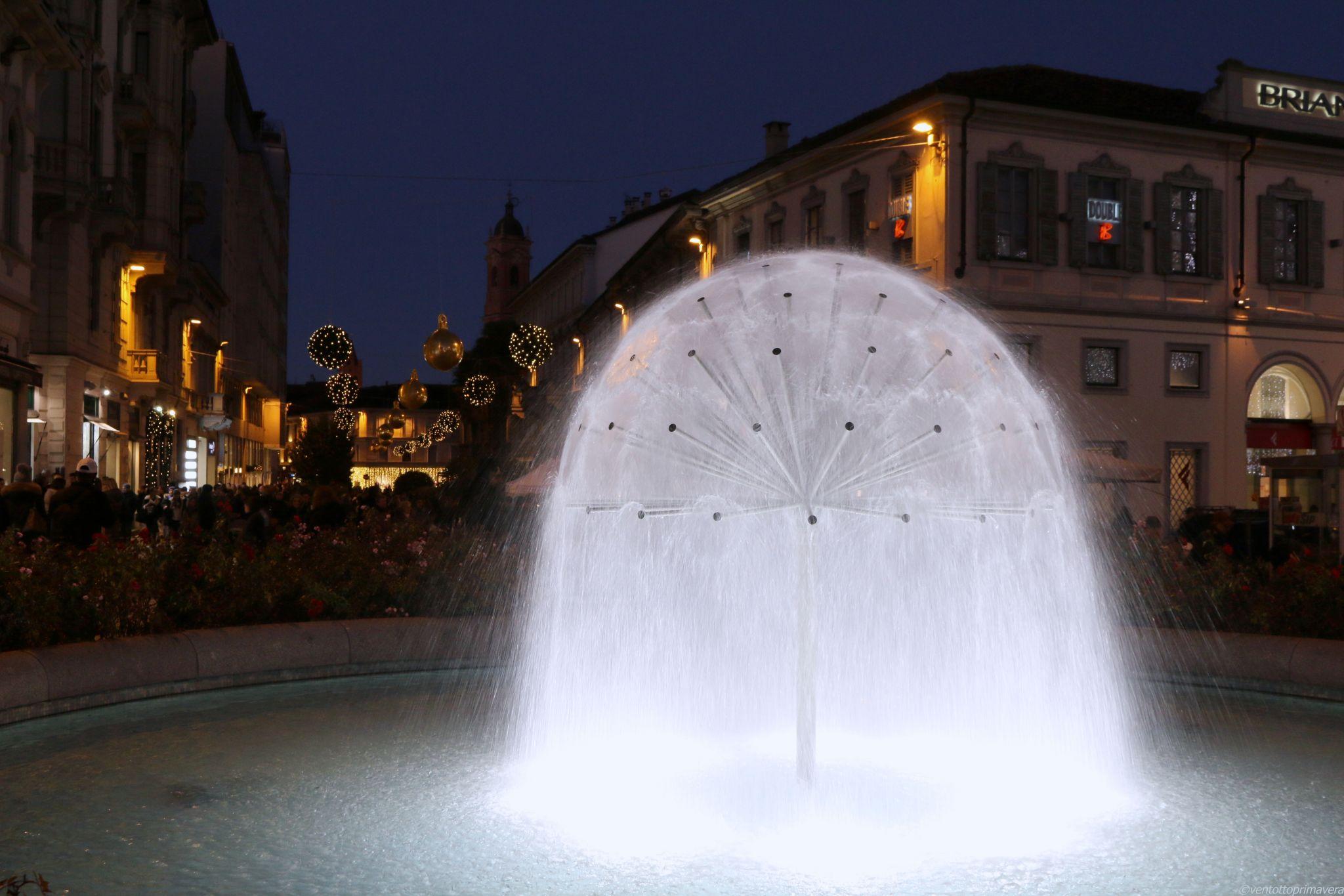 Monza Fountain, Italy