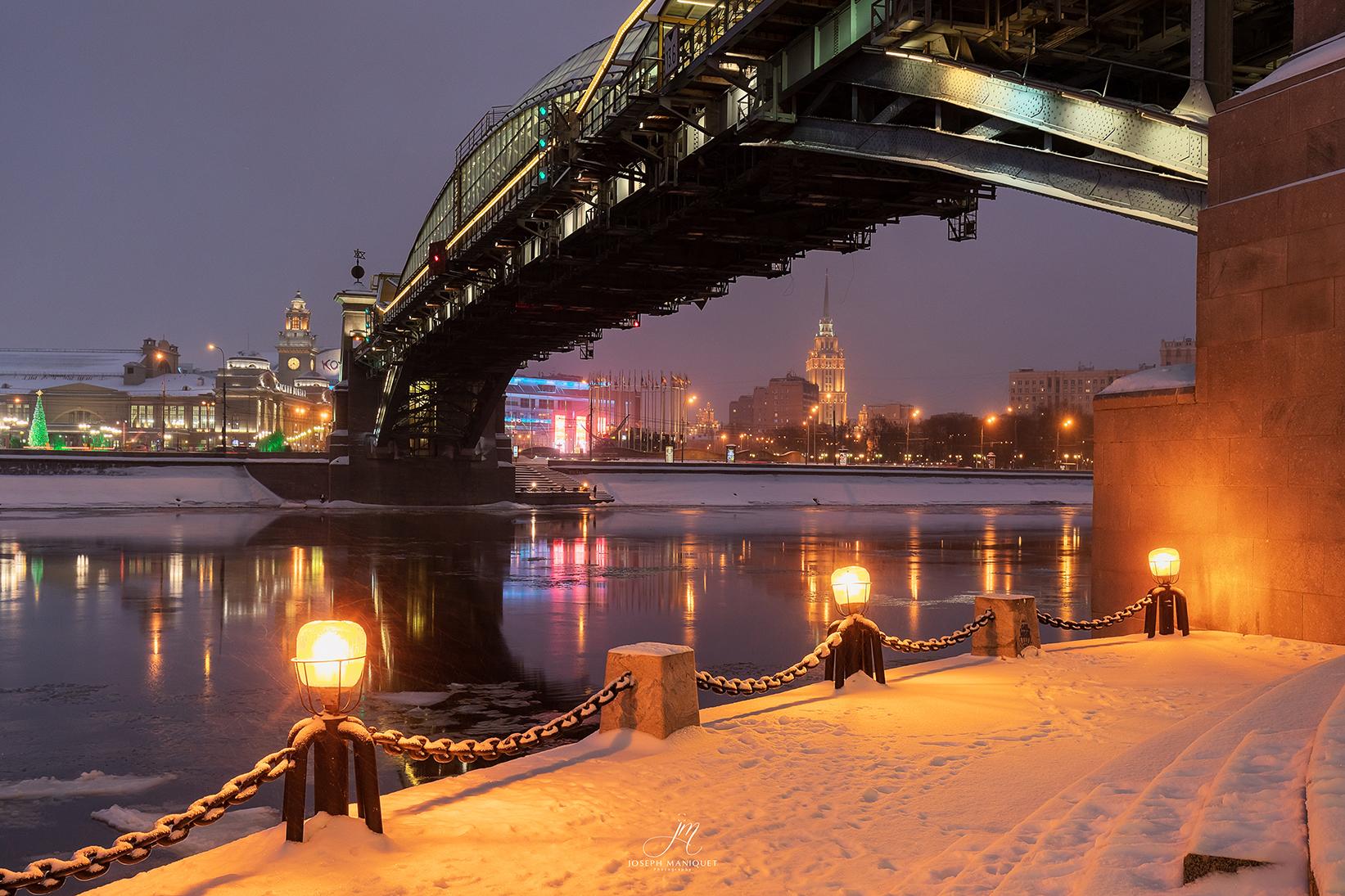 Moskau Bridge, Russian Federation