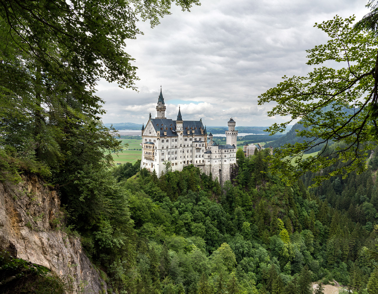 Neuschwanstein hidden spot, Germany