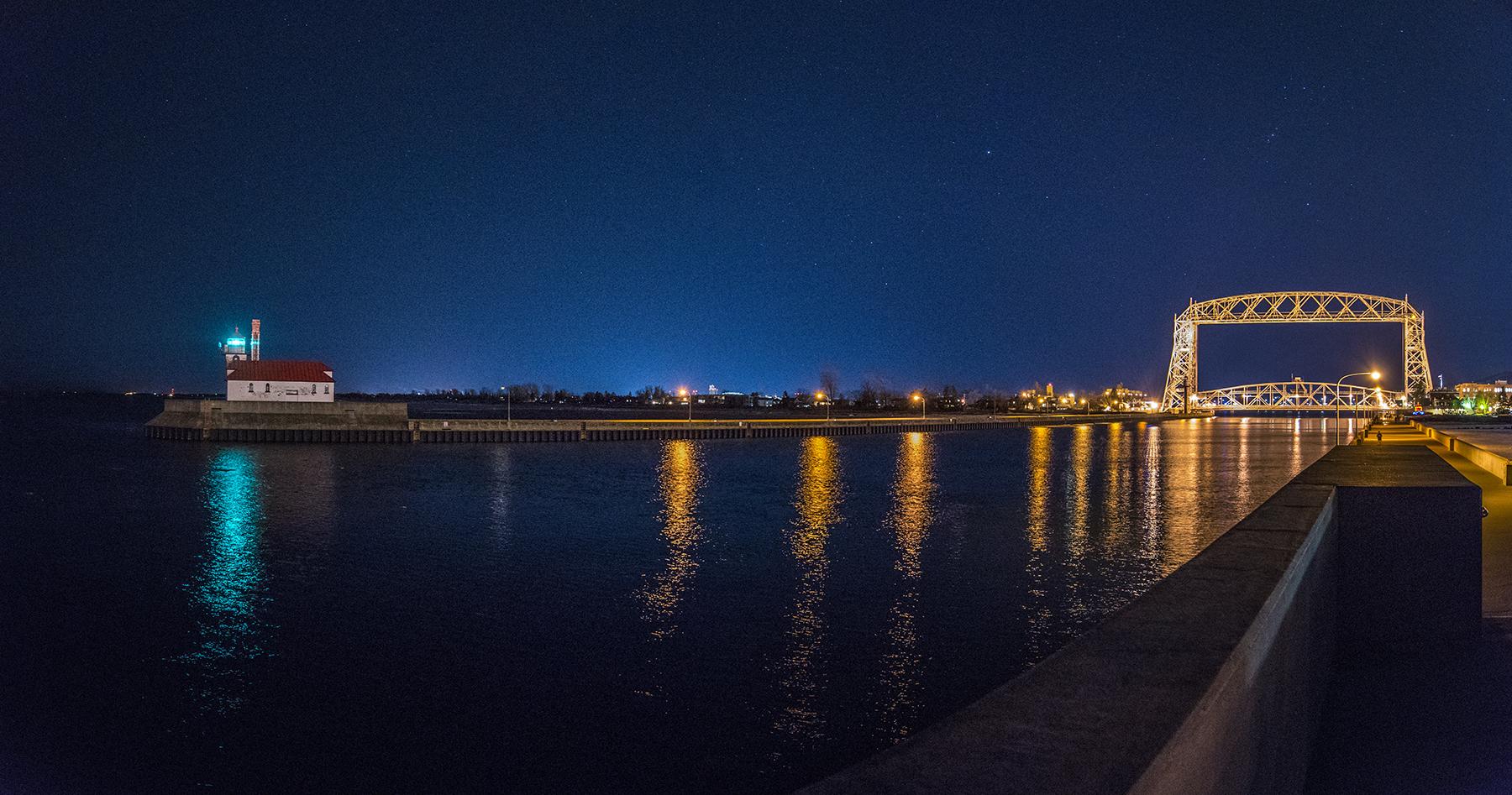 North Pier Duluth, Minnesota, USA