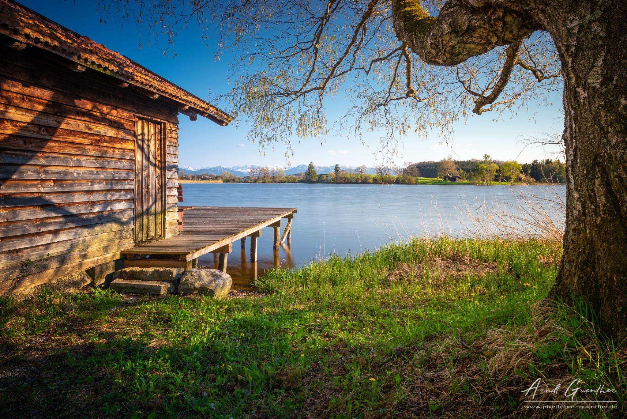 Nussberg Pond, Germany