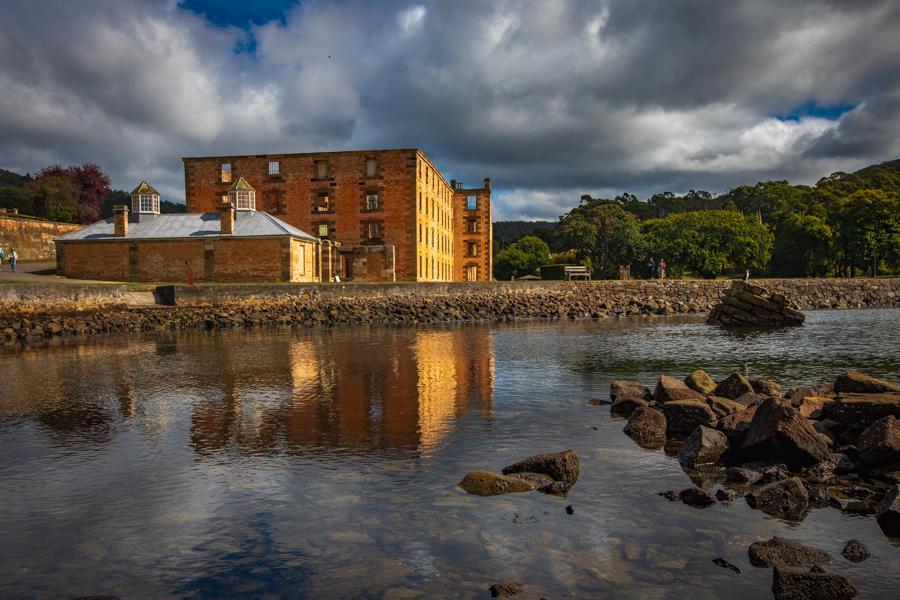 Port Arthur reflection Tasmania, Australia