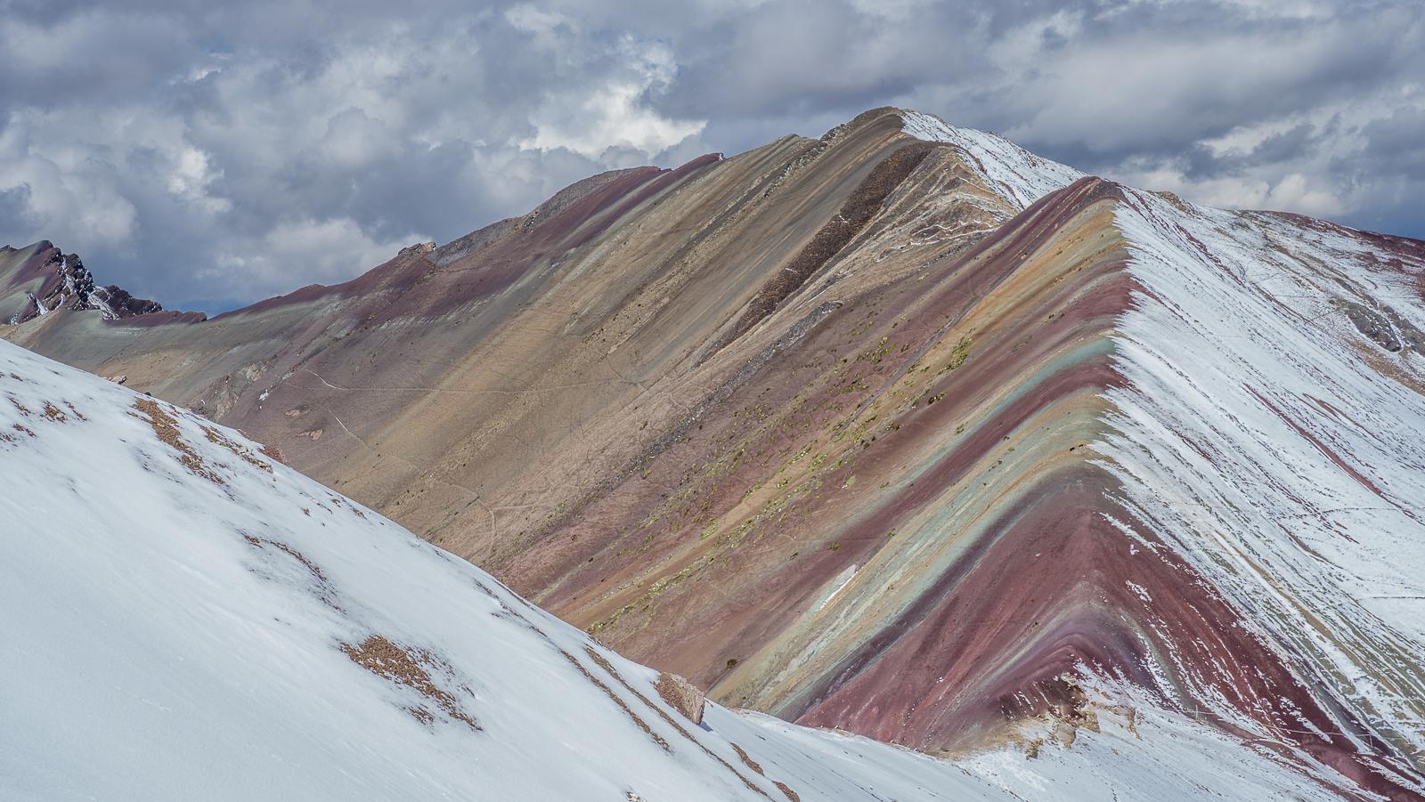 Rainbow mountain , montaña arco iris, Peru