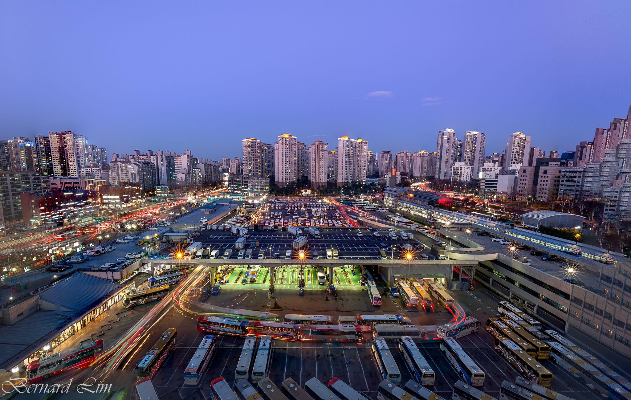 Seoul Bus Terminal, Korea