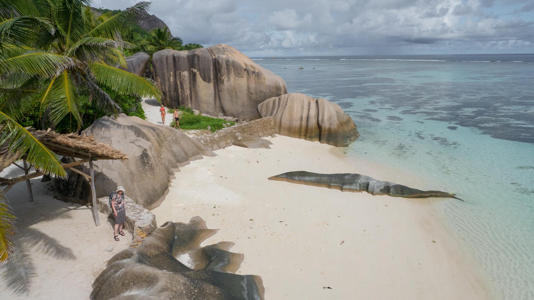 Source d'argent beach, Seychelles