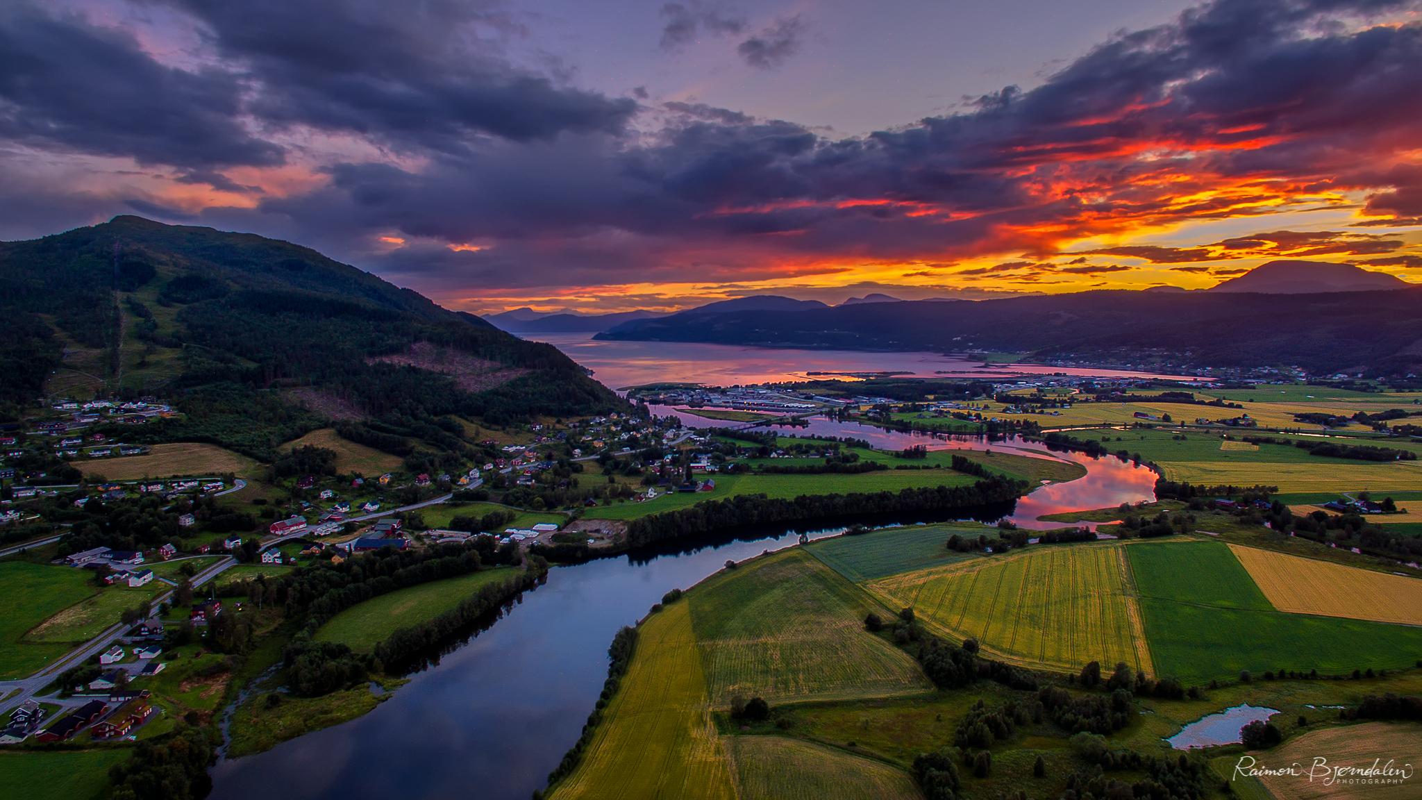 Surnadal Sunset, Norway
