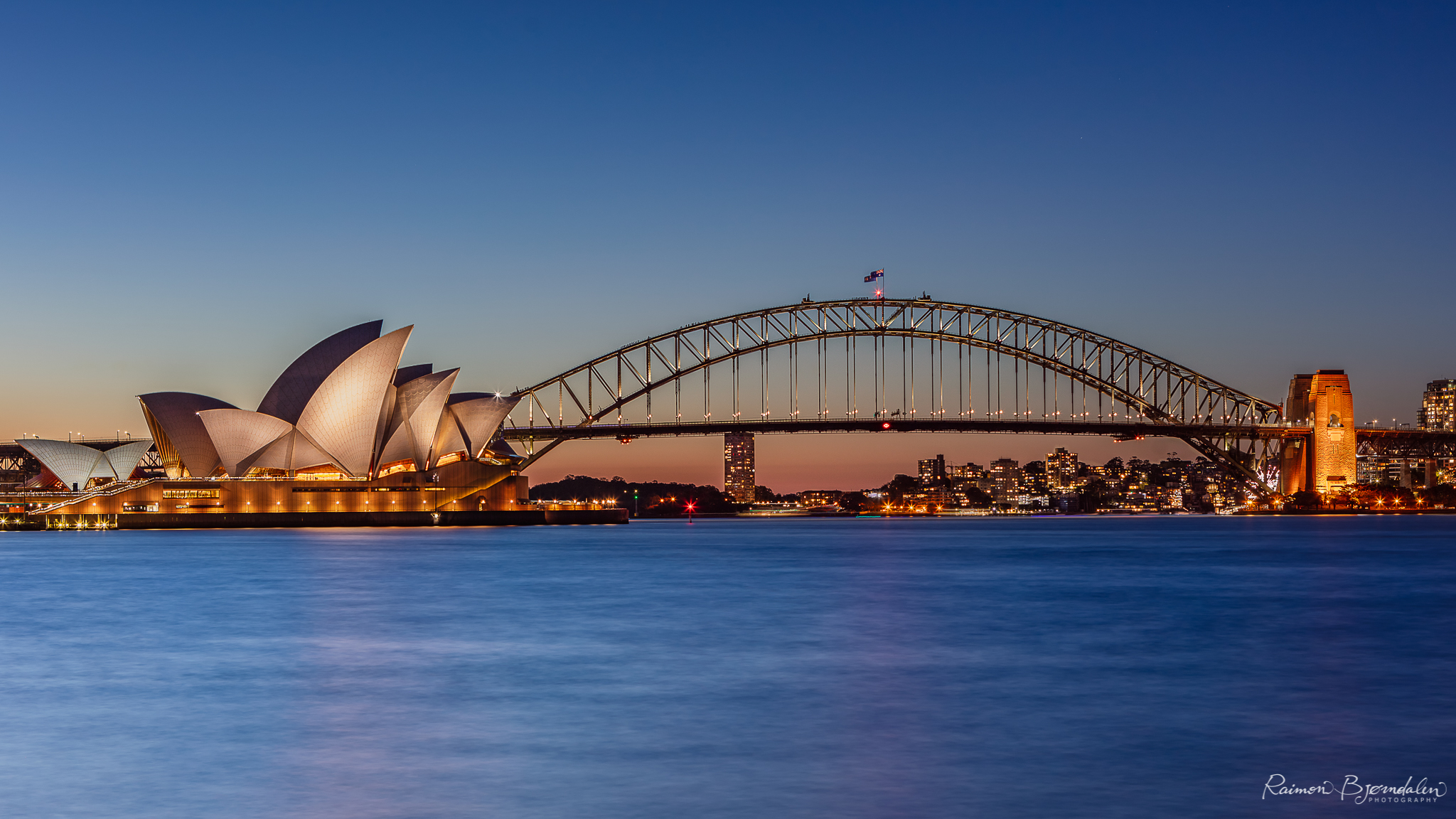 sydney opera house and harbour bridge australia l - View Sydney Harbour Bridge And Opera House Pictures  PNG