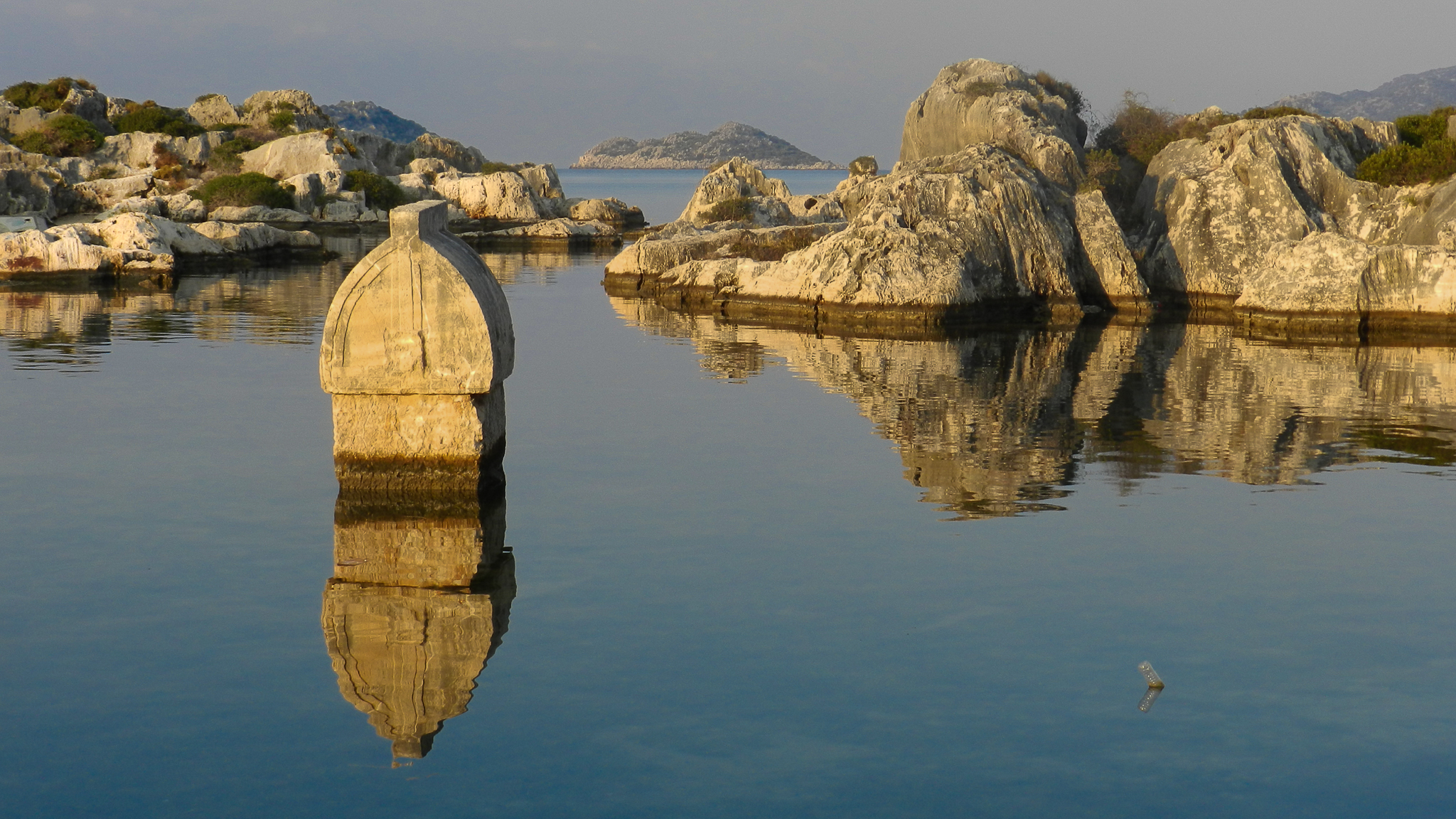 Tomb on the water, Turkey