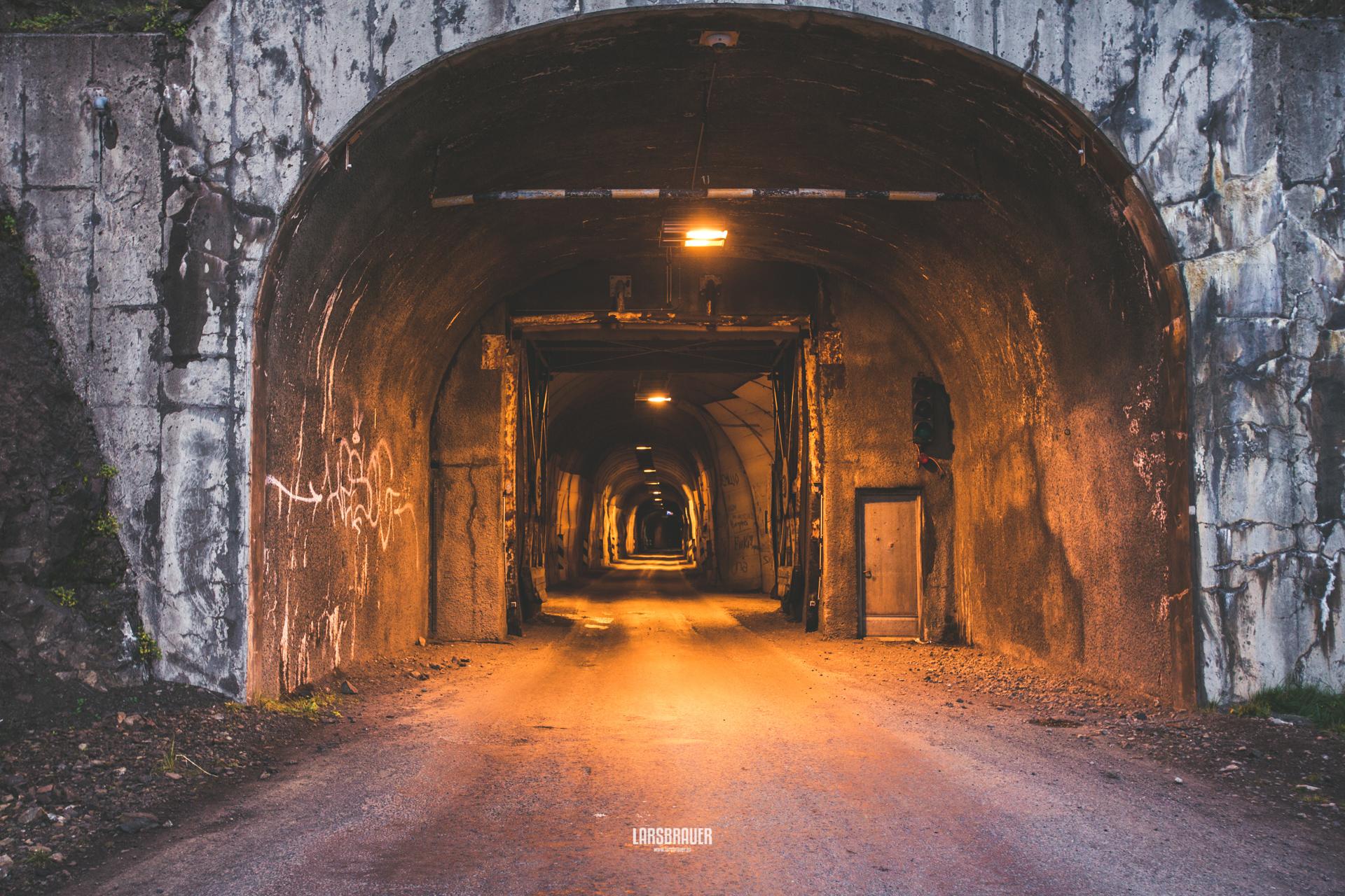 Tunnel in Siglufjördur, Iceland