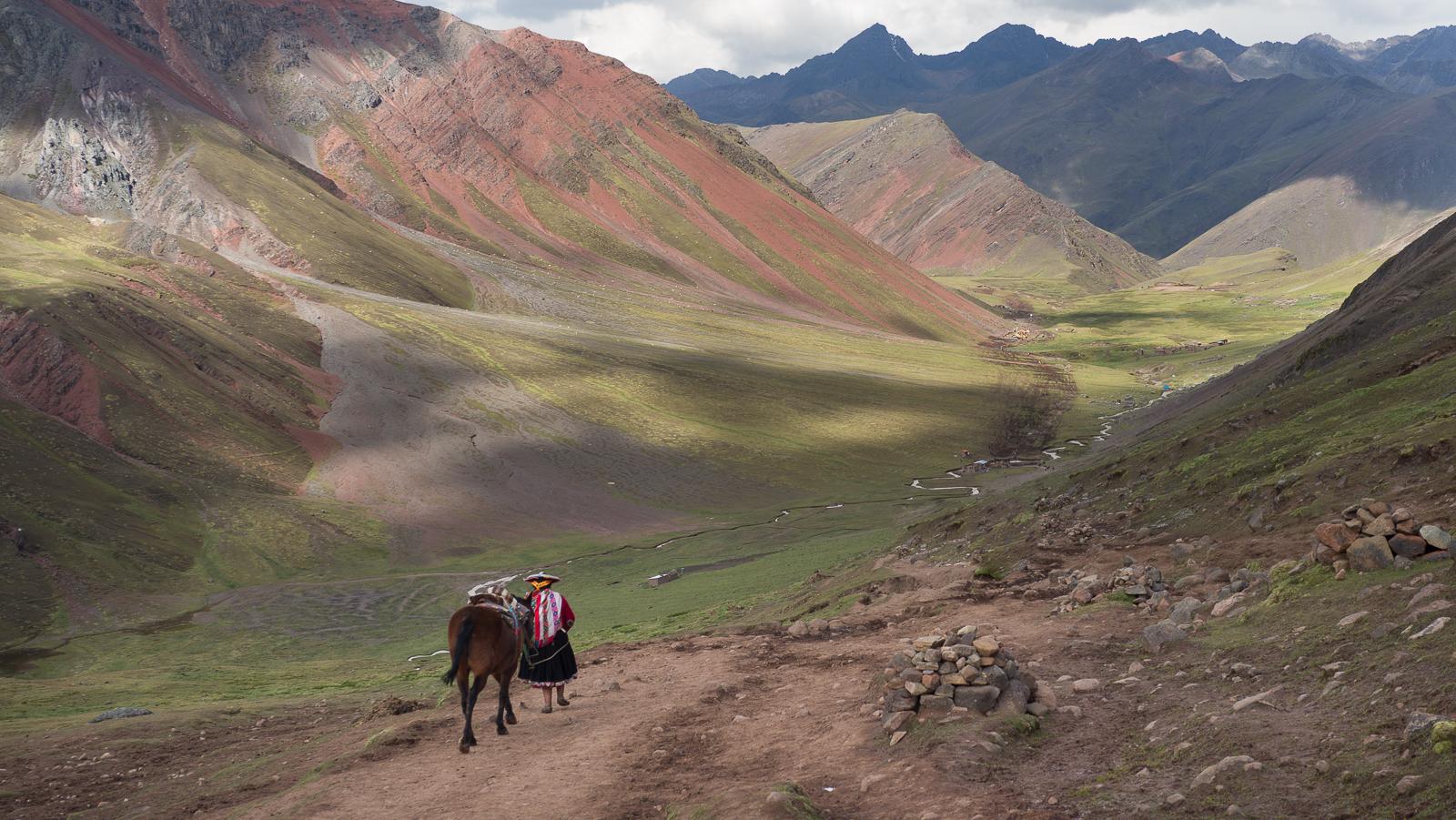 Vinicunca valley, Peru