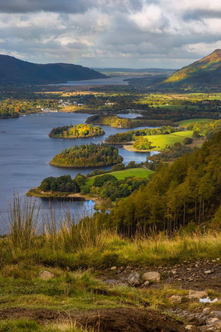 Walla Crag view, United Kingdom