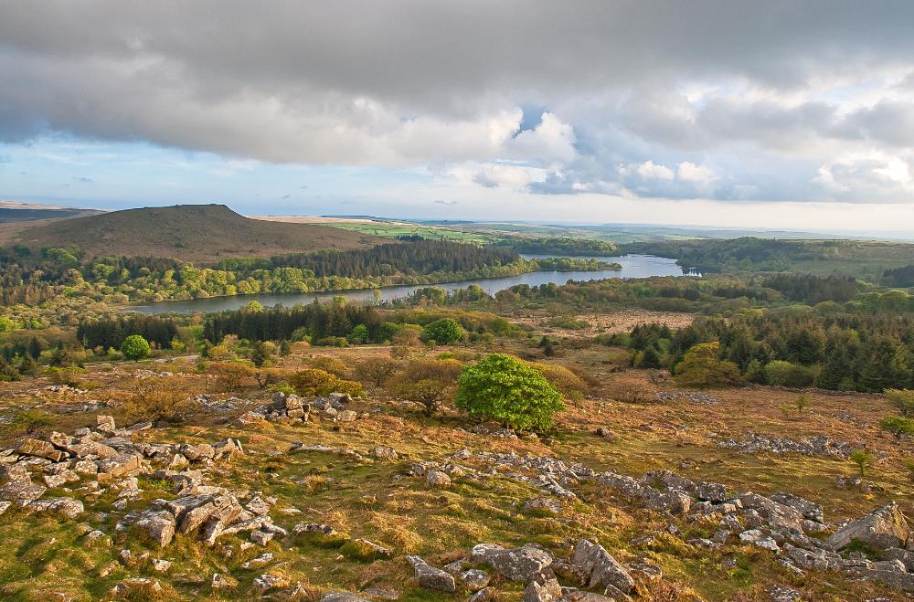 Burrator reservoir, United Kingdom
