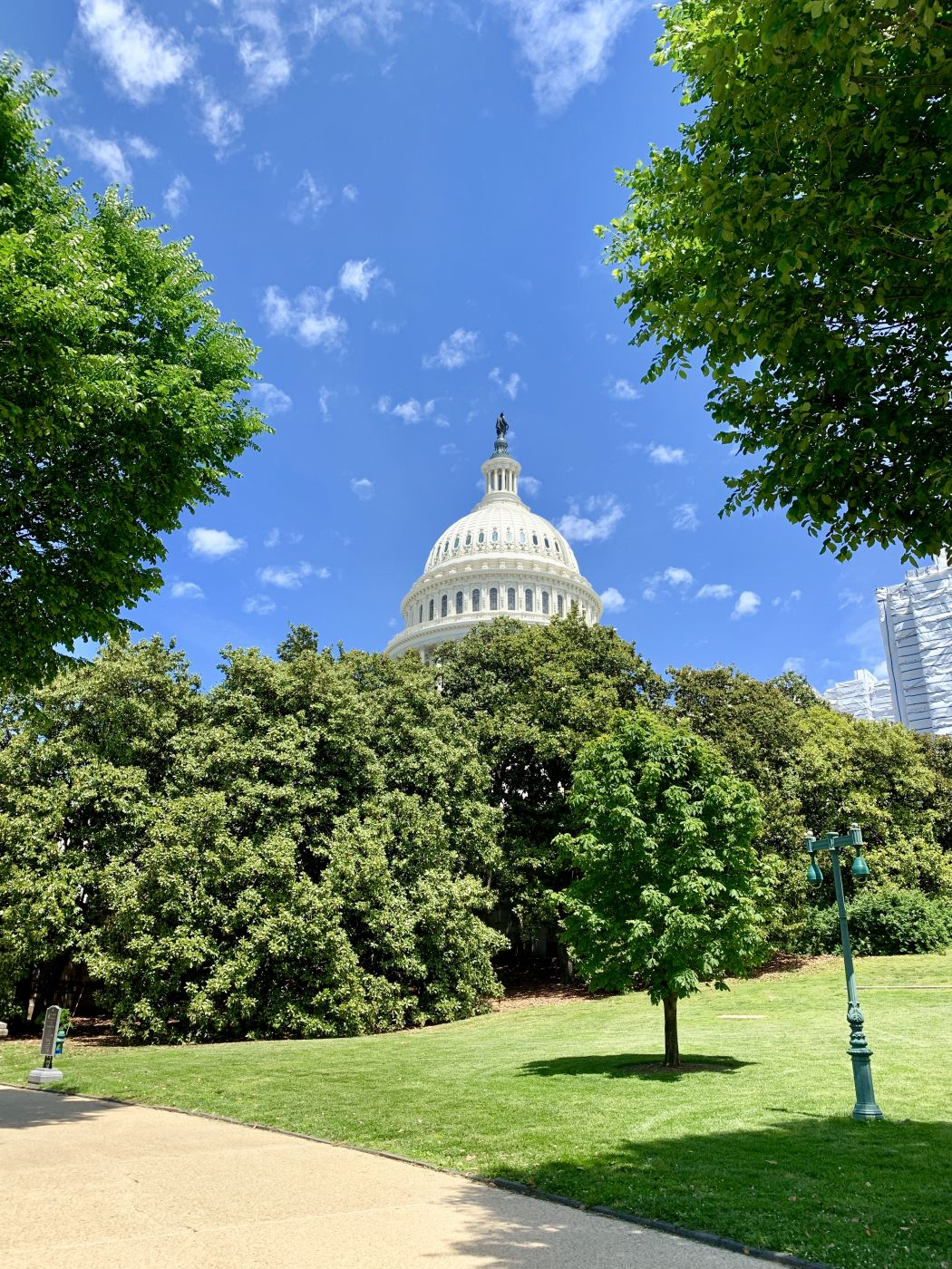 Capitol in spring, USA