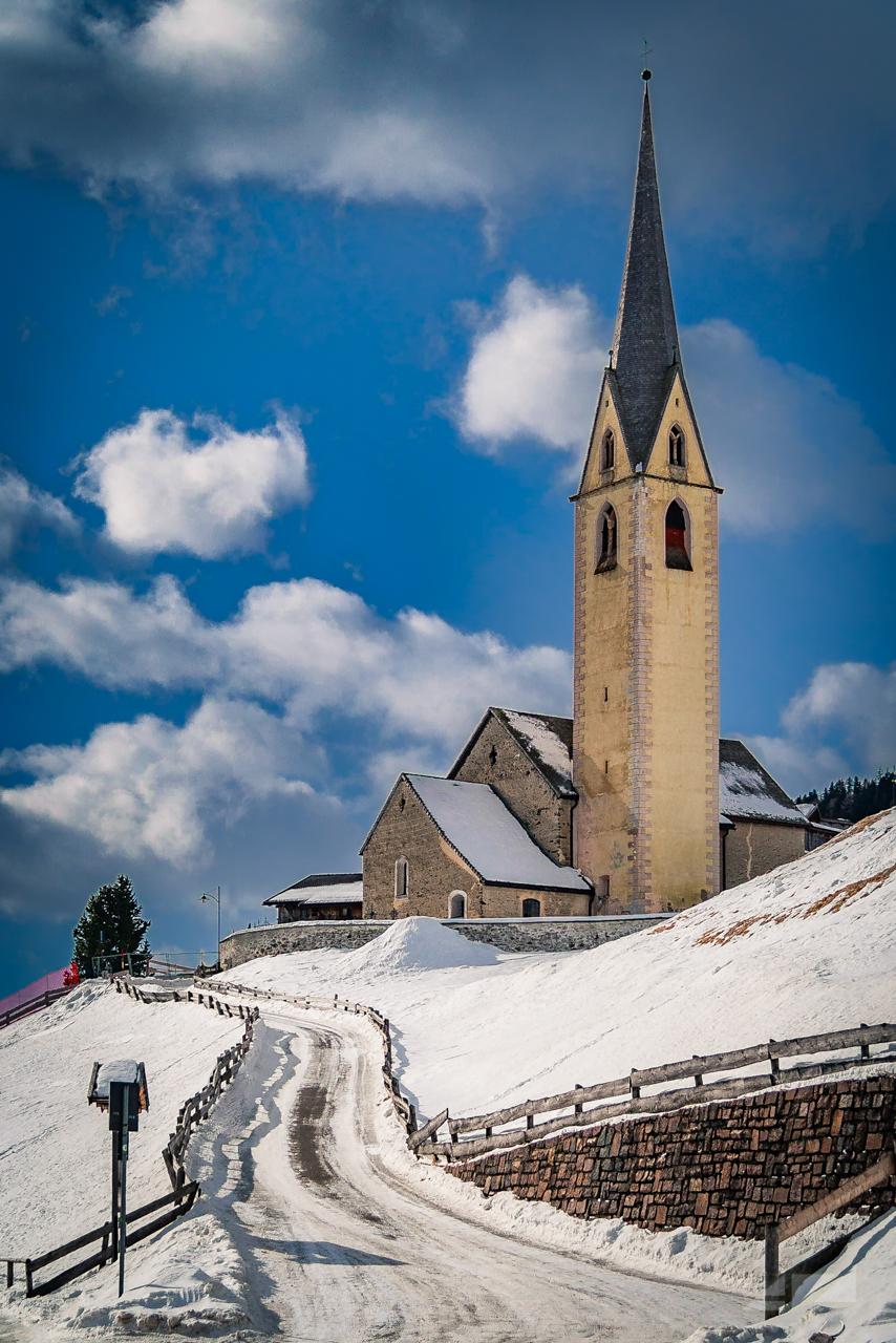 Church of San Nicolò - Valdurna, Italy