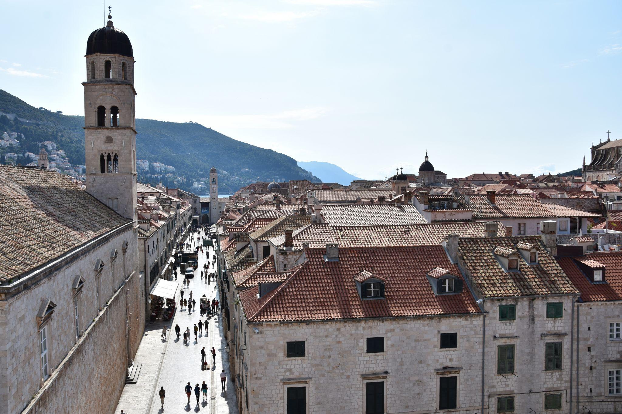 City walls views (different locations along the perimeter), Croatia