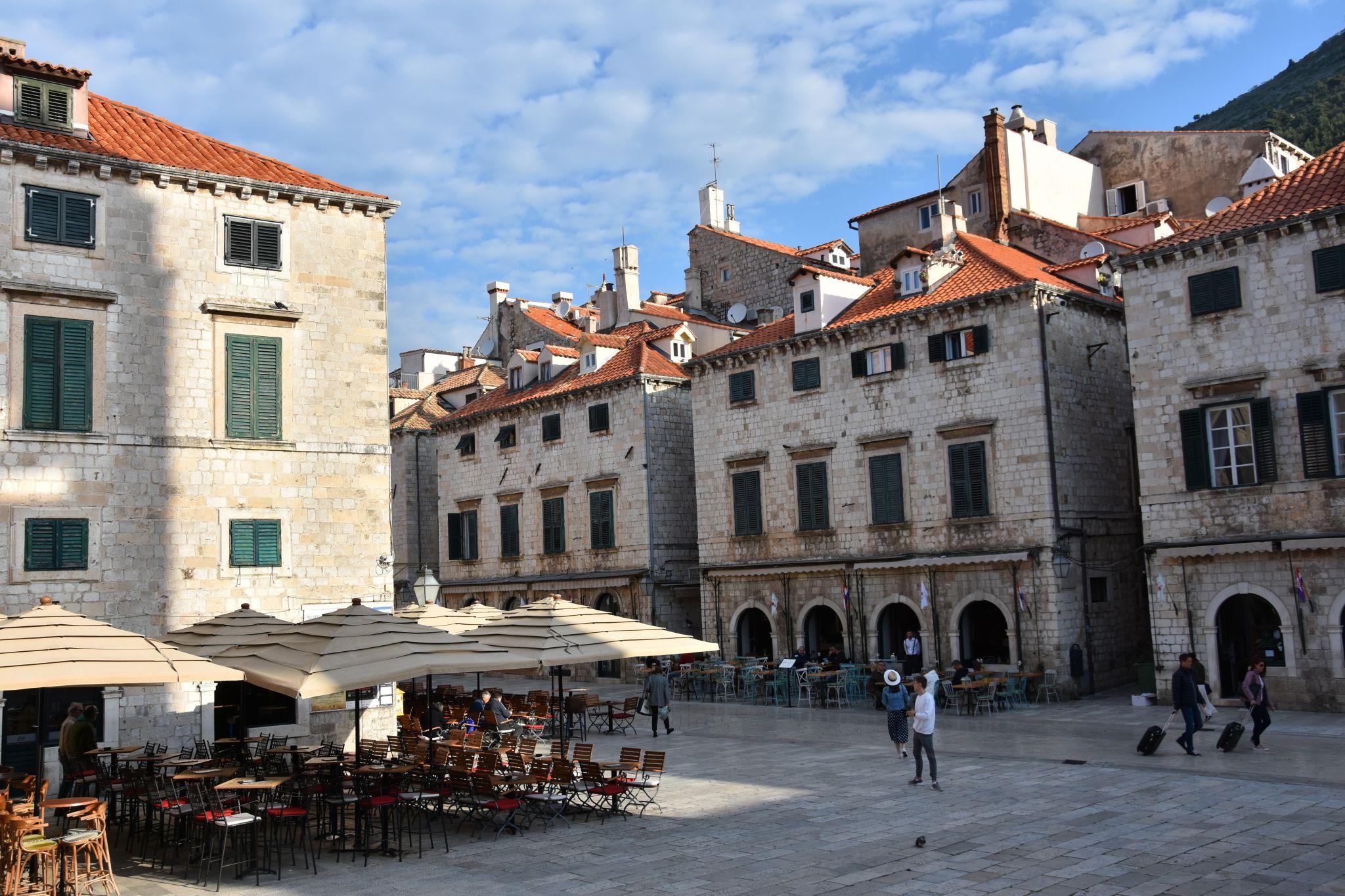 Dubrovnik Stradun, Croatia