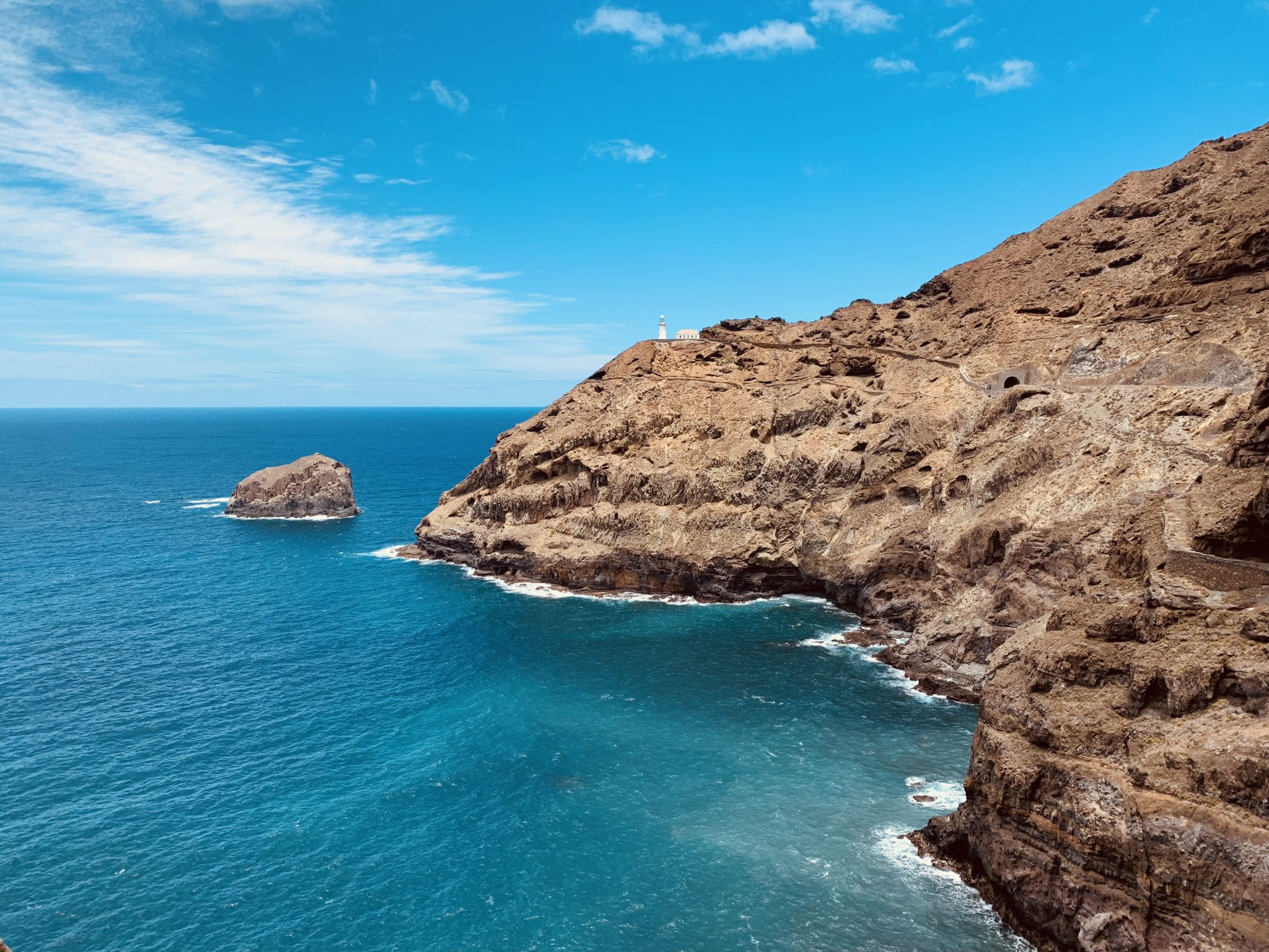 Farol Fontes Perreira de Melo, Cape Verde