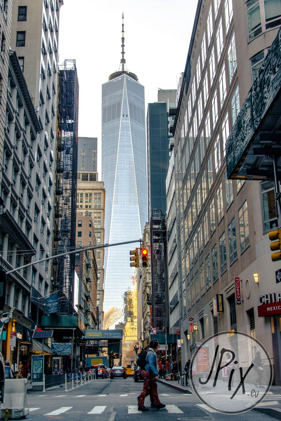 Freedom Tower New York at Fulton Street, USA