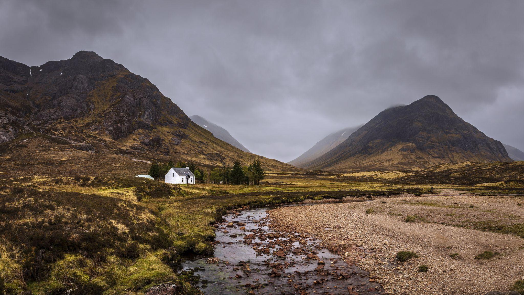 Glen Coe Photograph House , Highlands , Scotland, United Kingdom