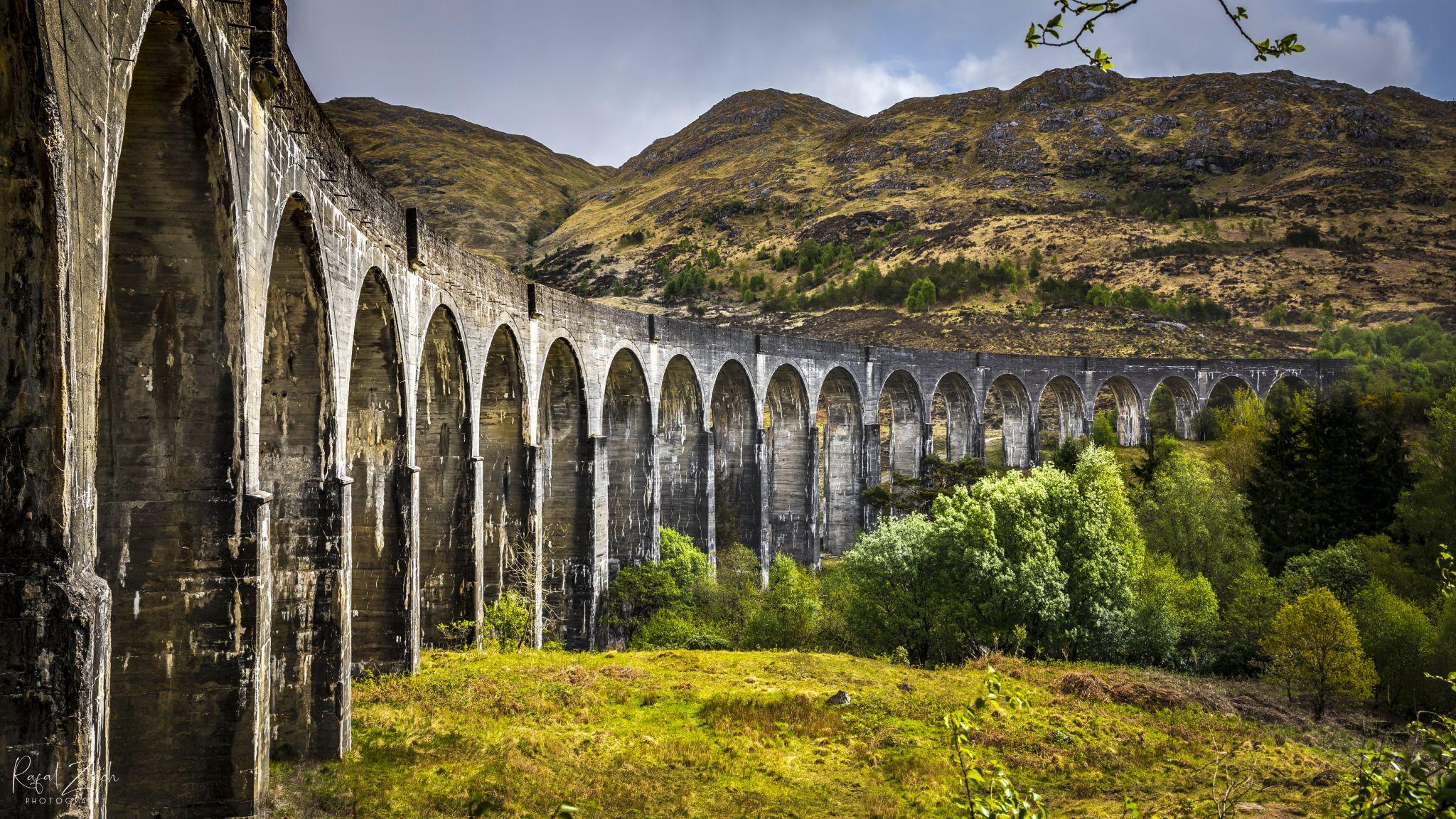 Glenfinnan Viaduct , Scotland, United Kingdom
