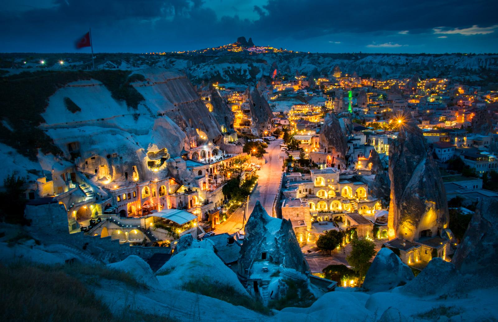 Goreme From Above, Turkey