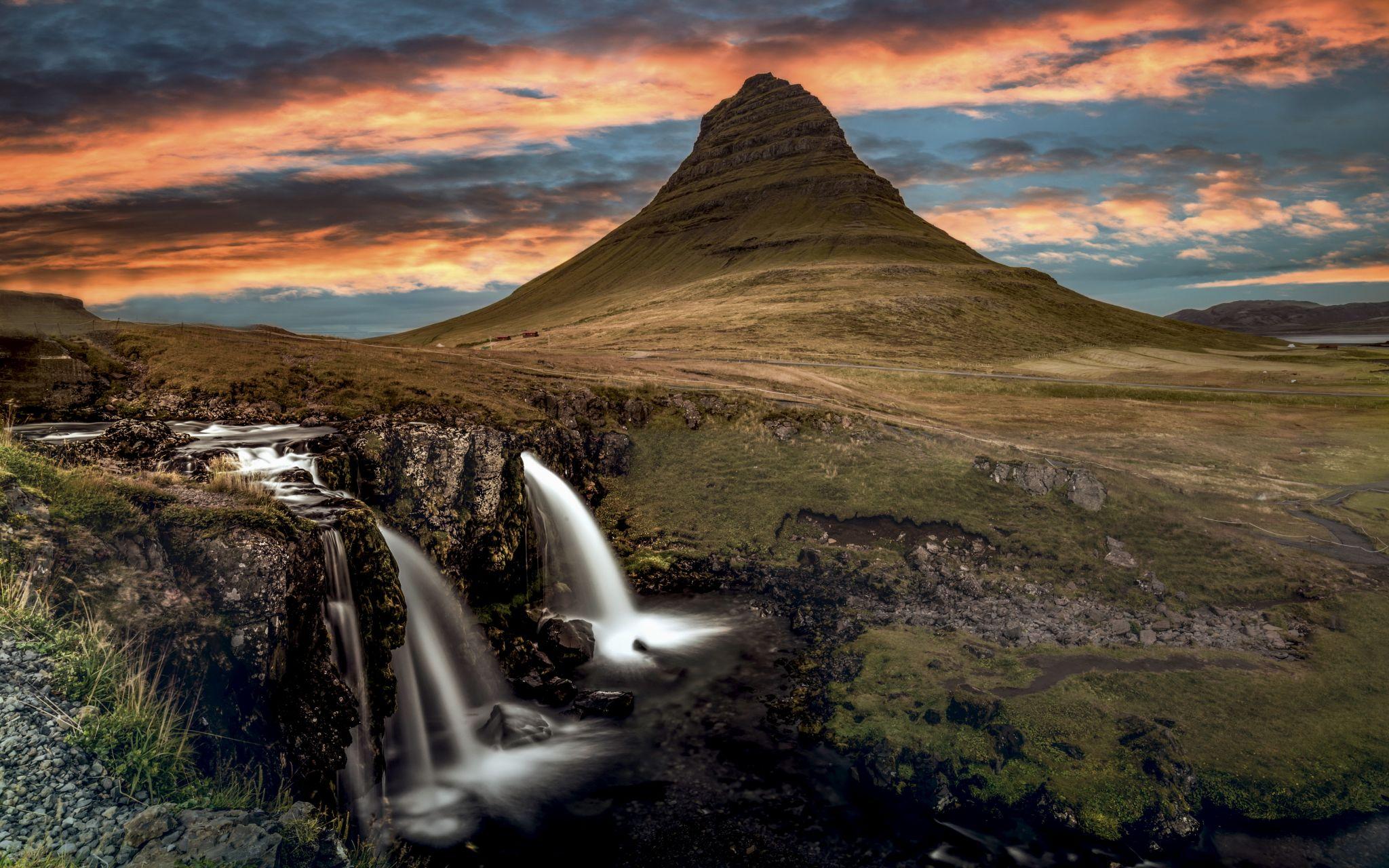 Kirkjufell,  Iceland, Iceland