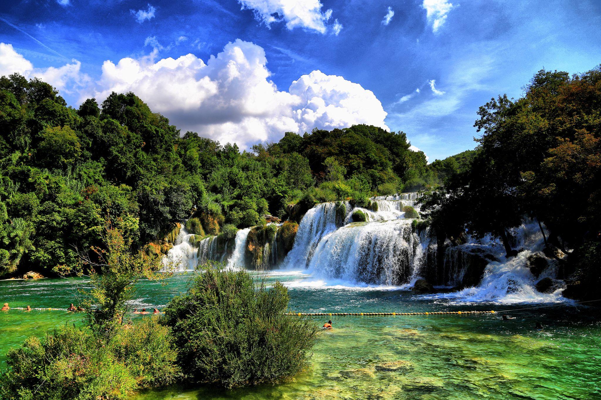 krka waterfall, Croatia, Croatia
