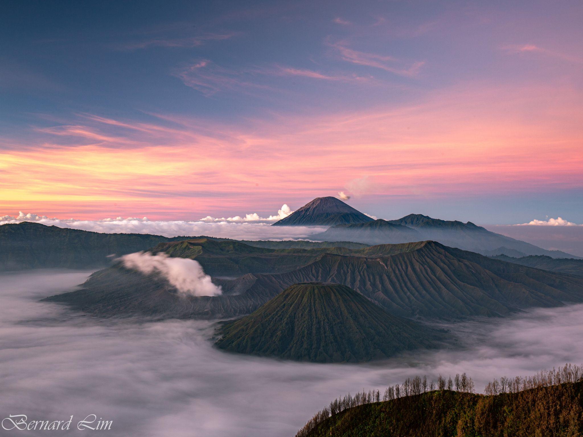 Mt Bromo at sunrise, Indonesia