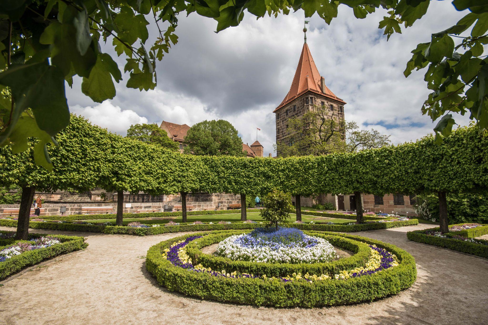 Nürnberg Burggarten, Germany